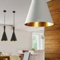 Cone Single Metal Pendant - LED Lamp
