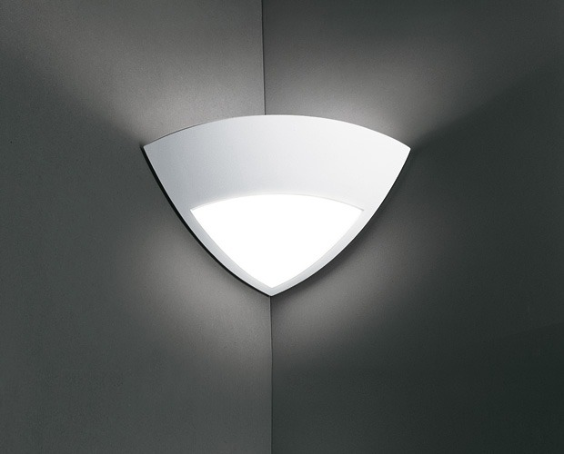 Corner Wall Light Indoor : Angle Plaster Corner Uplight