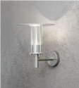 Galvanised Exterior Wall Light E27 Lamp