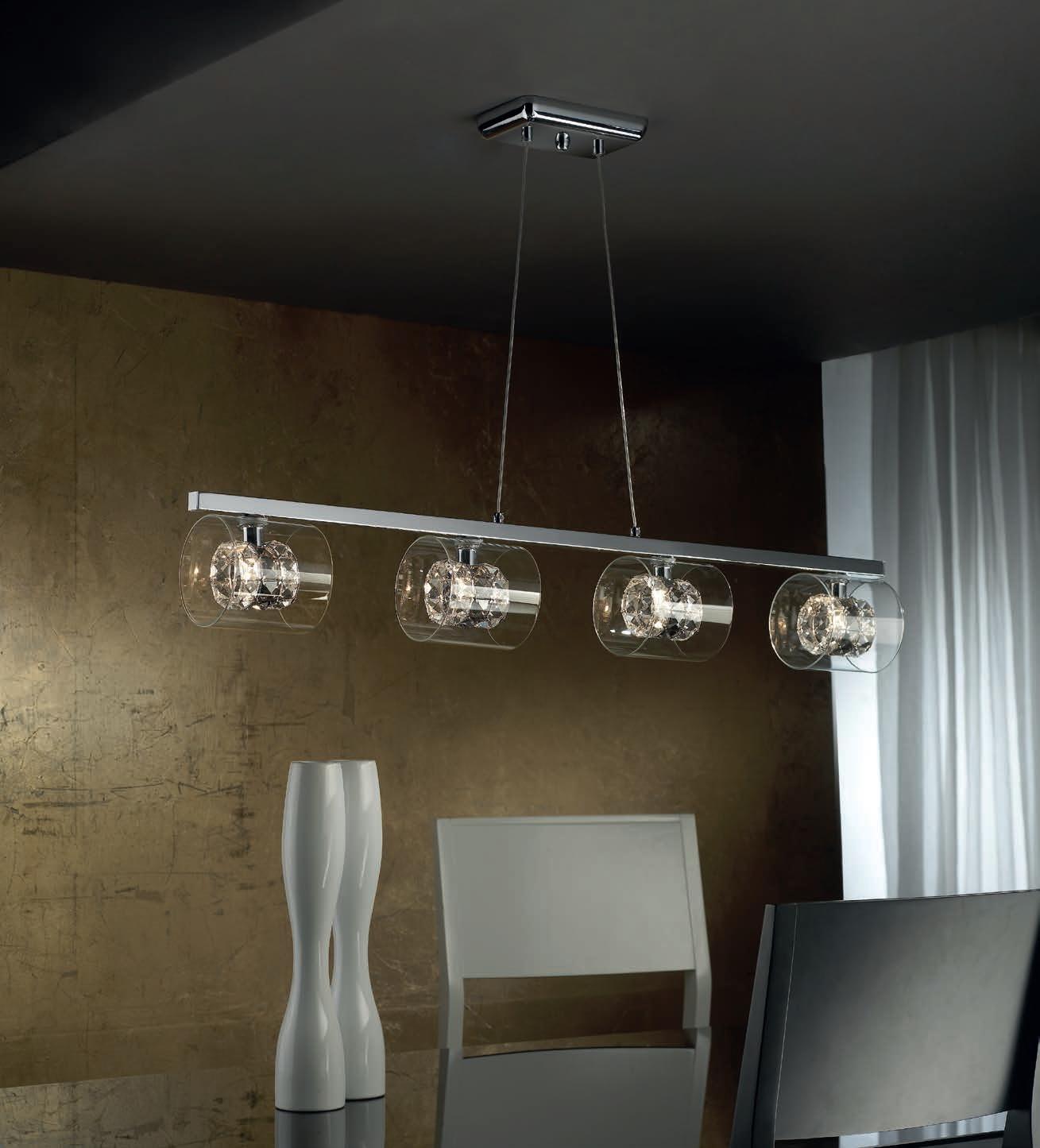 Smoke Crystal Wall Lights : Smoke Glass & Crystal Wall Lights