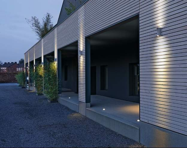 Led up and down wall lights ip44 high quality outdoor led up and down pictures to pin on pinterest