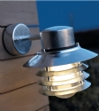 Vaned Low Glare Outdoor Wall Light