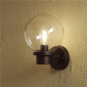 Basic Globe Wall Light - Sensor Option Also