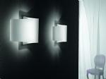 Swirl & Curved Glass Wall Light