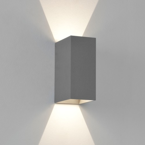 Led Up Amp Down Exterior Ip65 Wall Light