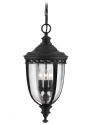 Black Traditional Chain Lantern - Two Sizes