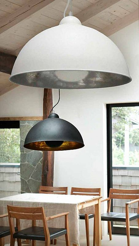 Large Metal Dome Pendant Dia 530mm