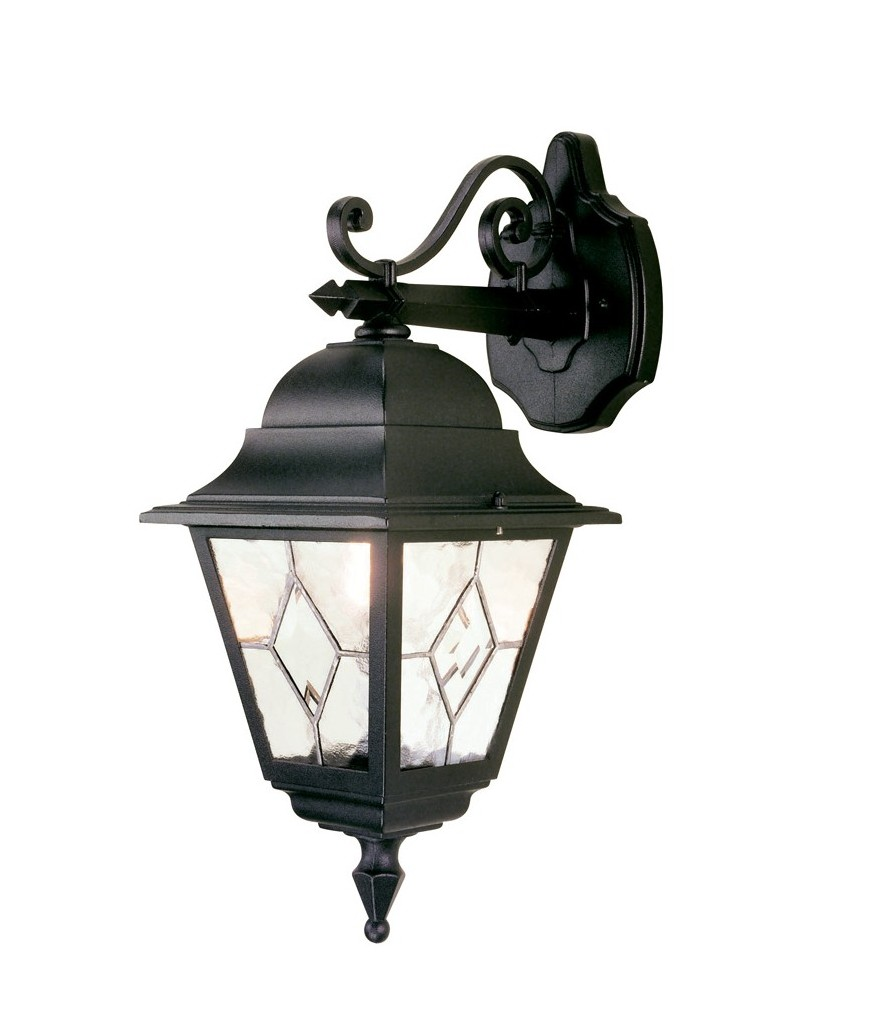 Leaded Glass Wall Lantern - Down- Saving you �7.20