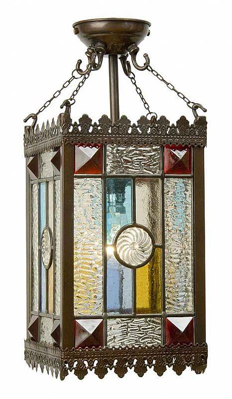 victorian lantern height 495mm