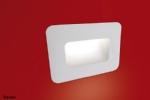 Semi Recessed Low Level Plaster Lighting