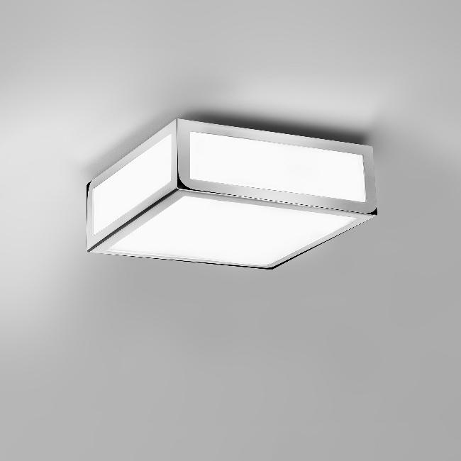 Bathroom Ceiling Lights Crystal Square : Stylish square bathroom light