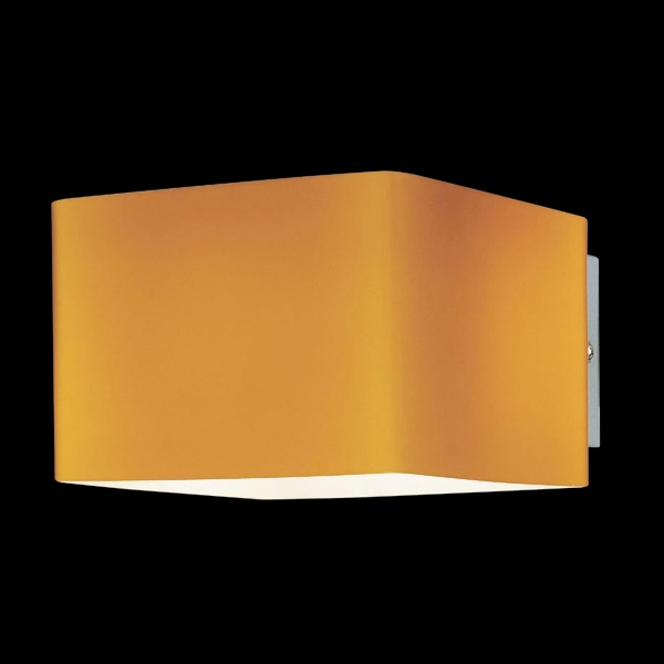 Square Chrome Wall Lights : Square Glass & Chrome Wall Light