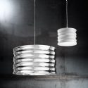 Rippled Effect Designer Pendant Light