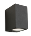 LED Graphite Square Exterior Wall Light