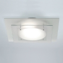 Square Tiered Glass Bathroom Ceiling Light- Saving you �14.68
