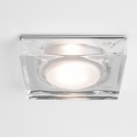 Large Square Glass Shower Light IP65