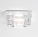 Soda Glass IP65 Downlight - Square