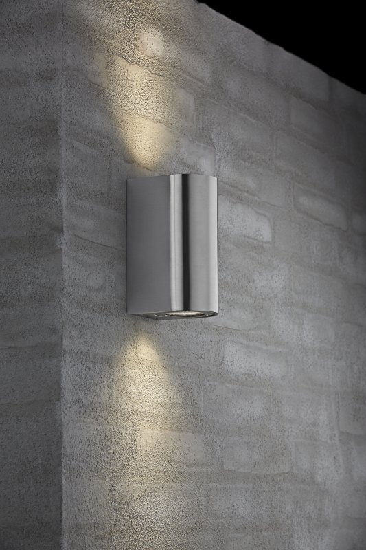 Exterior gu10 base wall light 5 finishes - Different exterior wall finishes ...