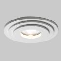 Tegular Design Plaster Recessed Downlight Round