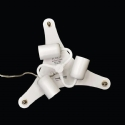Triple Lamp Ceiling Canopy Kit