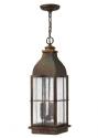 Triple Lamp Hanging Lantern