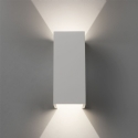 Sleek Up and Down Plaster Wall Light
