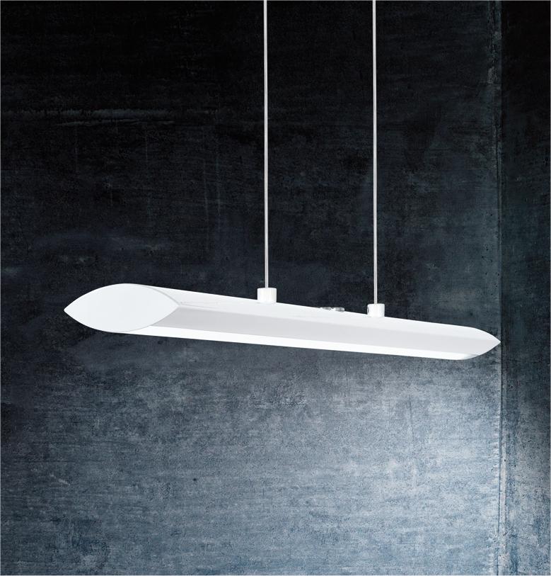Ultra Modern Matt White Pendant Light