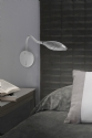White Aluminium Adjustable Wall Light