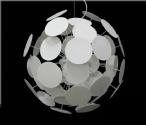 Funky Circular Dot Pendant