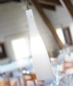 Stylish White Glass Pendant - Large D:150mm- Saving you �22.44