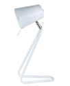 Z Metal Table Lamp in White