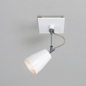 White Single Spotlight - Wall or Ceiling Mounted- Saving you �11.59