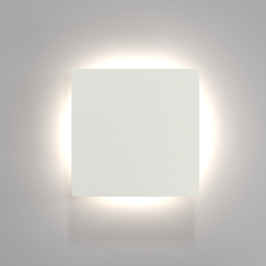 All Square Wall Lights : Square LED Wall Light IP44 - 2 Light Patterns