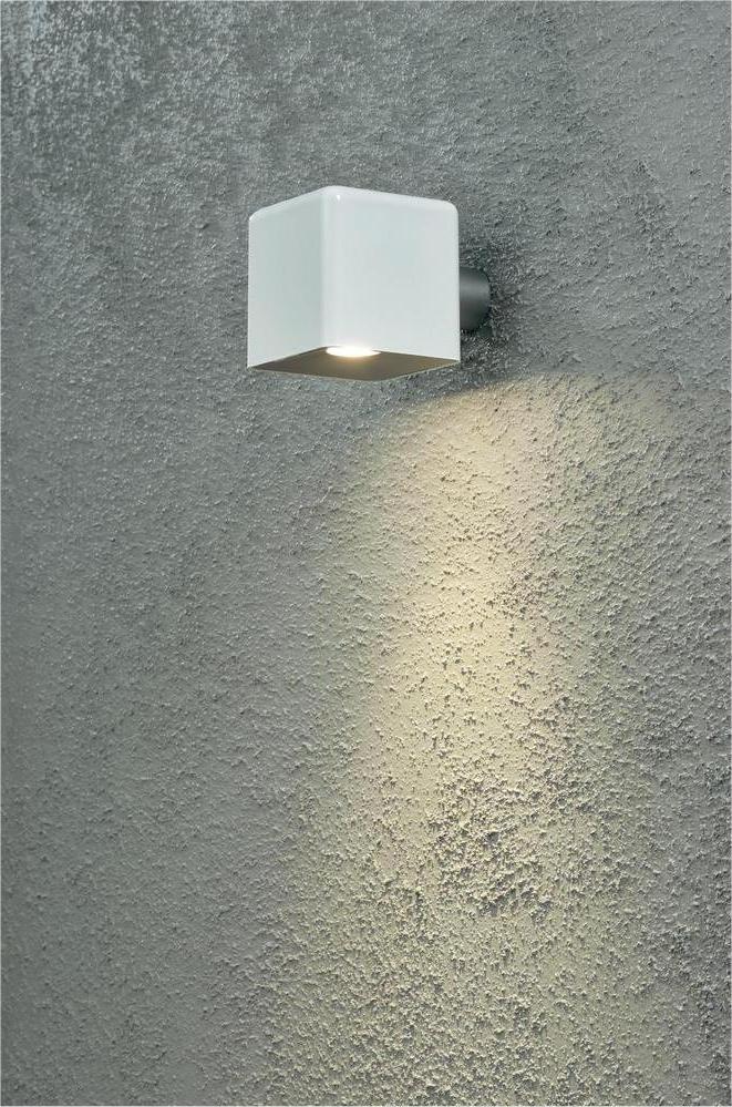 Square LED Exterior Wall Light