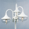 Classy & Curvy Triple Head Lamp Post- Saving you �145.40