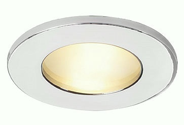 White IP65 Frosted Glass Downlight 12v