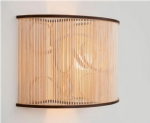 Wooden Cage Wall Light by Tom Raffield