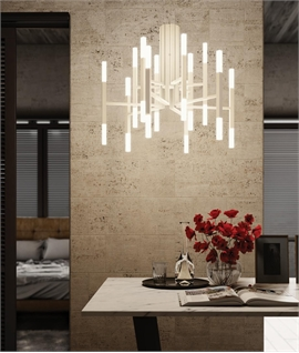 The Light a Modern LED Chandelier