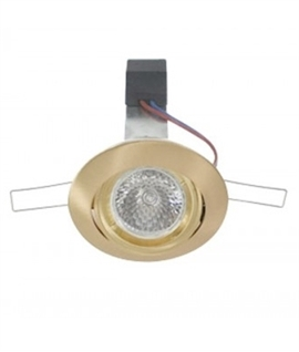 Twist Lock Tilt Low Voltage Downlight