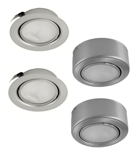 Halogen 12v Undercabinet Lights in 3 different styles