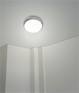 Emergency Opal Energy Saving 28W 2D Wall Or Ceiling Light