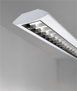Twin Fluorescent Fitting - Surface Mounted or Suspended
