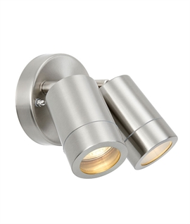 316 Stainless Steel Twin Adjustable Spotlight