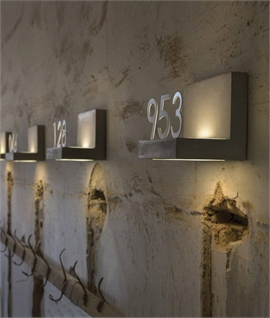 3D Concrete LED Bracket for Numbers & Letters