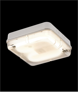 Basic Square 28w 2D Bulkhead Light