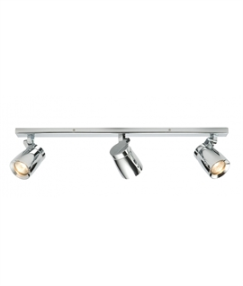 Sleek Design Adjustable 3 Light Spot Bar