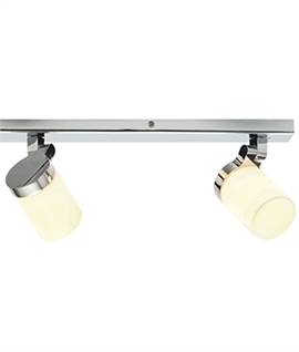 Triple Chrome Ceiling Bar Adjustable Lampheads