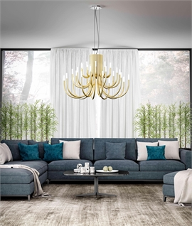 Palm LED Chandelier 12, 18 or 30 Arm
