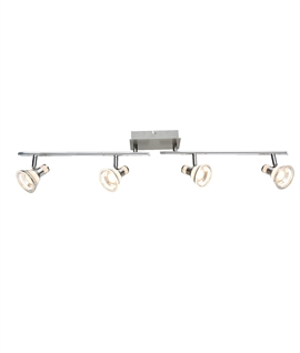 LED Chrome Spot Bar 4 Lights