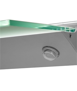 Sensio Florence IP44 LED Glass Shelf Light - 500mm Wide